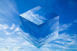 sky_cube_02の写真素材 [FYI00446831]