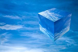 sky_cube_05の写真素材 [FYI00446832]