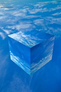 sky_cube_04の写真素材 [FYI00446833]