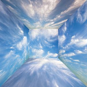 background[sky_room]_02の写真素材 [FYI00446917]