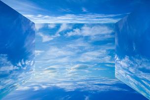 background[sky_room]_01の写真素材 [FYI00446926]