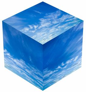 sky_cube_20の写真素材 [FYI00446939]