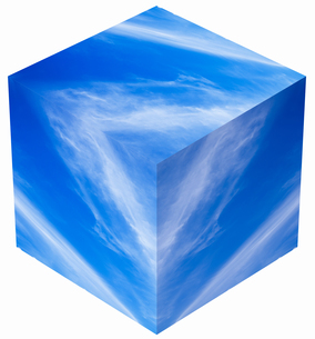 sky_cube_25の写真素材 [FYI00446942]