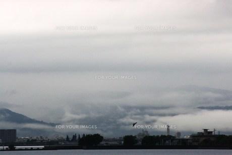 霧の街の写真素材 [FYI00447525]