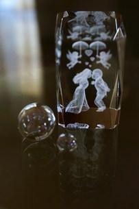 ガラスの置物の写真素材 [FYI00447542]