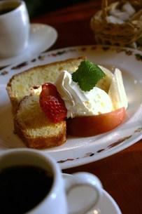 シフォンケーキの写真素材 [FYI00447545]
