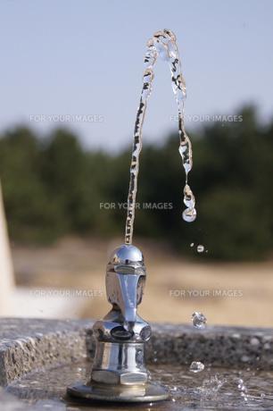 水飲み場の写真素材 [FYI00447799]