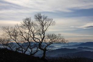 位ヶ原からの山並みの写真素材 [FYI00448317]