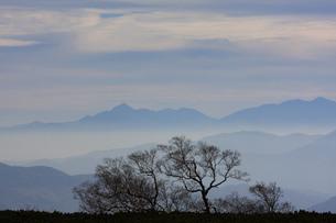 位ヶ原からの甲斐駒ヶ岳の写真素材 [FYI00448318]