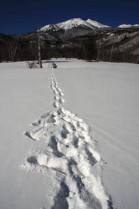 冬の一ノ瀬の写真素材 [FYI00448333]