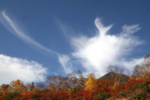 乗鞍岳に湧く雲の写真素材 [FYI00448334]