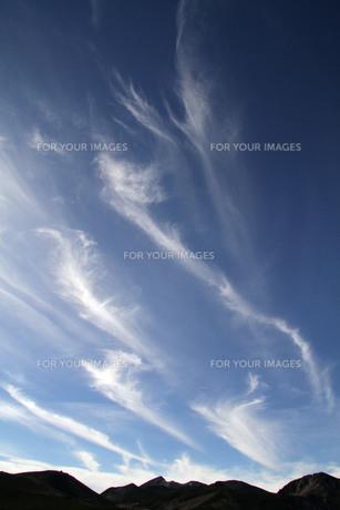 乗鞍岳に沸き立つ雲の写真素材 [FYI00448360]