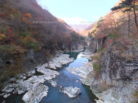龍王峡の写真素材 [FYI00448436]