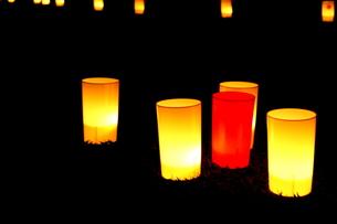 なら燈花会の光の素材 [FYI00448556]