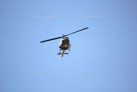 ヘリコプターの写真素材 [FYI00448724]