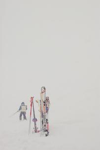スキーの素材 [FYI00448852]