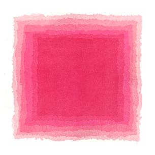 水彩による赤のグラデーションの写真素材 [FYI00448905]