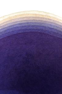 水彩による青色系のグラデーションの写真素材 [FYI00448907]