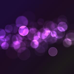 紫のイルミネーションの写真素材 [FYI00448939]