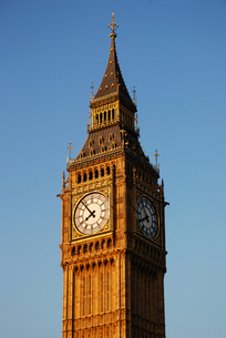 イギリスのビッグ・ベンの写真素材 [FYI00449023]