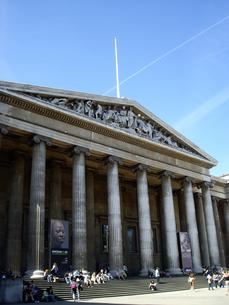 イギリスの大英博物館の写真素材 [FYI00449048]