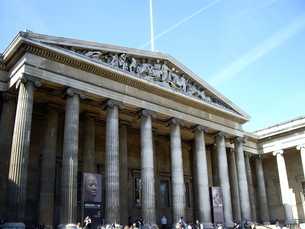 イギリスの大英博物館の写真素材 [FYI00449053]