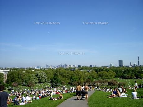 ロンドンのプリムローズ・ヒルの写真素材 [FYI00449056]