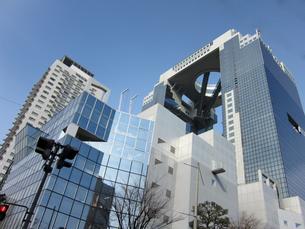 梅田ビル街1の写真素材 [FYI00449157]