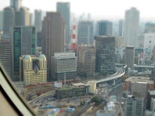 大阪市街ジオラマverの写真素材 [FYI00449170]