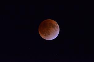 皆既月食の写真素材 [FYI00449225]
