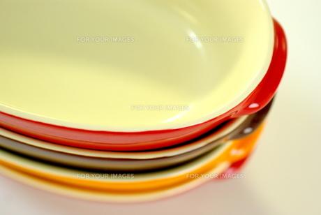 グラタン皿の写真素材 [FYI00449482]