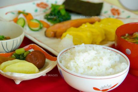 日本の朝食の写真素材 [FYI00449497]