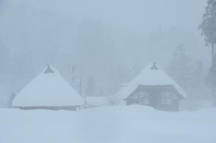 雪景色の素材 [FYI00449694]