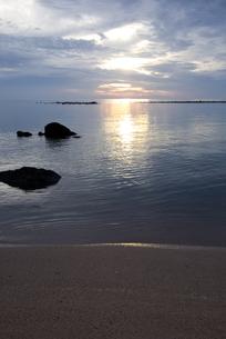 サムイ島の夜明けの写真素材 [FYI00451087]