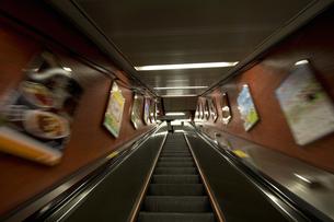香港の地下鉄の写真素材 [FYI00451091]