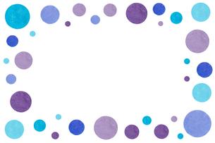 水玉フレームの写真素材 [FYI00451332]