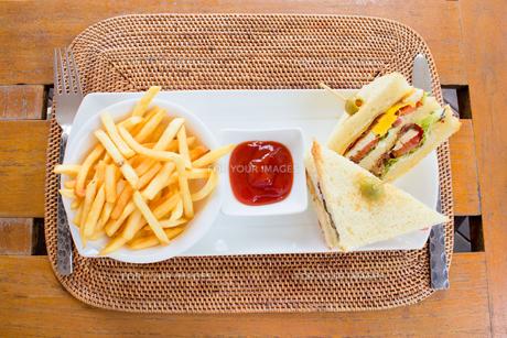 サンドイッチの写真素材 [FYI00451352]