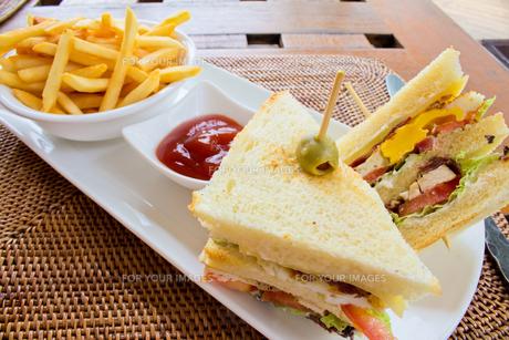 サンドイッチの写真素材 [FYI00451366]