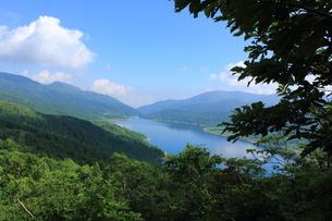 弁天山からの野反湖の素材 [FYI00452287]