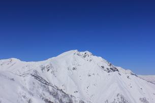 冬の谷川岳の写真素材 [FYI00452355]