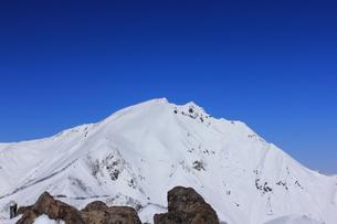 冬の谷川岳の写真素材 [FYI00452373]