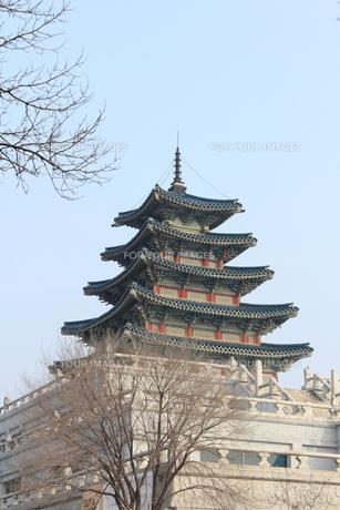 景福宮の五重塔の写真素材 [FYI00452510]