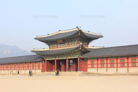 景福宮の興禮門の素材 [FYI00452516]