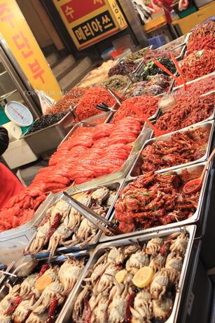 ソウルの市場の写真素材 [FYI00452517]