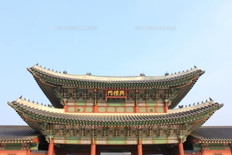景福宮の興禮門の素材 [FYI00452518]