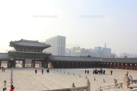 景福宮の写真素材 [FYI00452522]