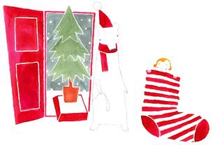 クリスマスの素材 [FYI00452650]