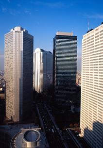 新宿高層ビル群の写真素材 [FYI00452747]