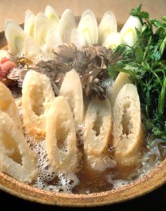 きりたんぽ鍋の写真素材 [FYI00452830]