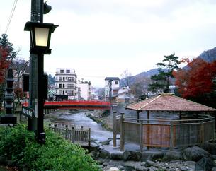 秋の修善寺温泉の写真素材 [FYI00452975]